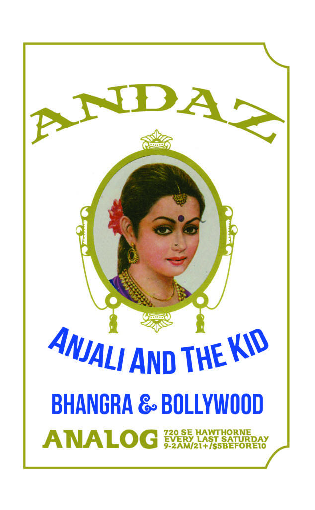 ANDAZ Bhangra Bollywood Dance Party w/ DJ Anjali and The Incredible Kid