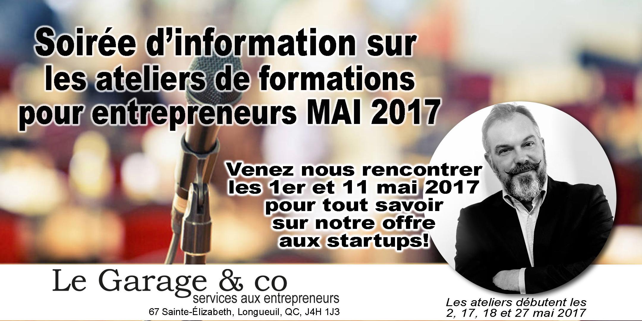 SOIRÉE D'INFORMATION - formation aux startup
