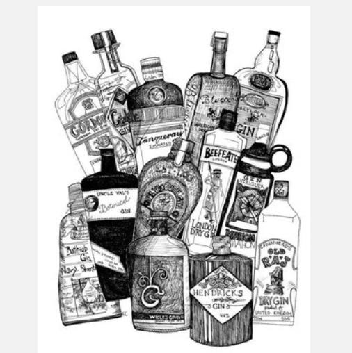 Gin Spirit Tasting {April Monthly Tasting}