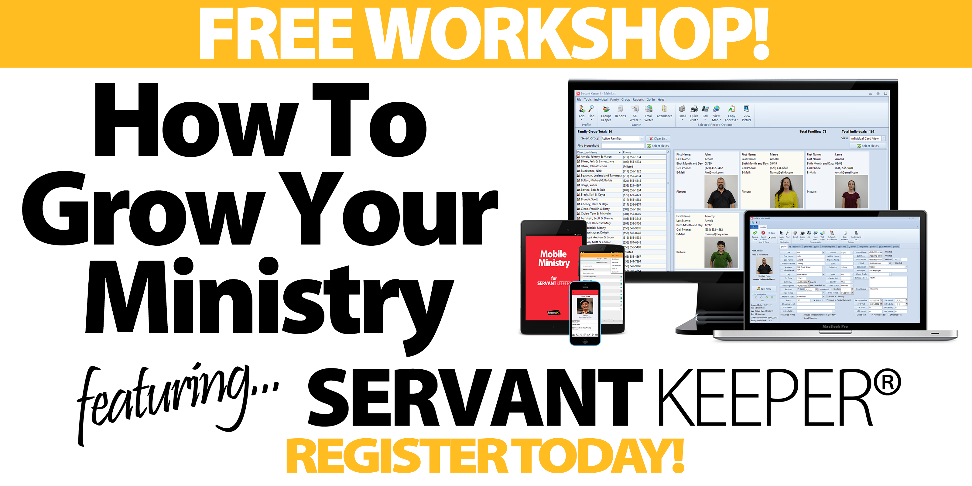 NYC (Parsippany) Workshop - How to Grow Your
