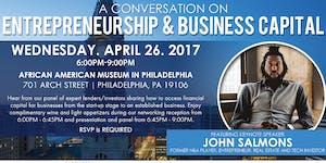 """UPPN Presents: """"A Conversation on Entrepreneurship &..."""
