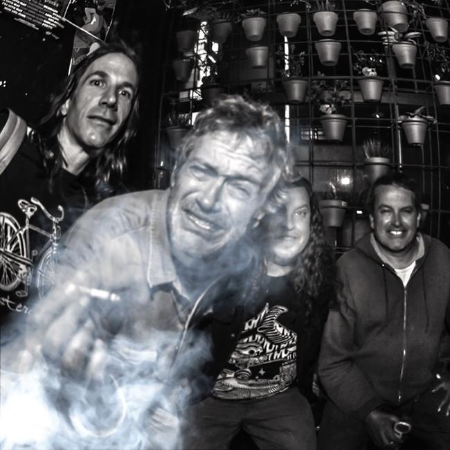 Meat Puppets and mike watt + the jom + terry show