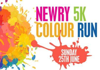 Children in Crossfire - Newry Colour Run - Ju