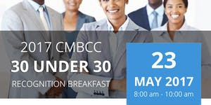 2017 CMBCC 30 Under 30 Recognition Breakfast