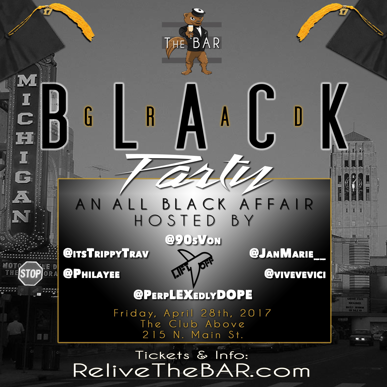 Grad Black Party