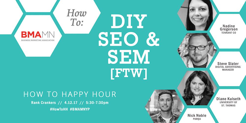 How to DIY SEO & SEM FTW | BMA-MN YP