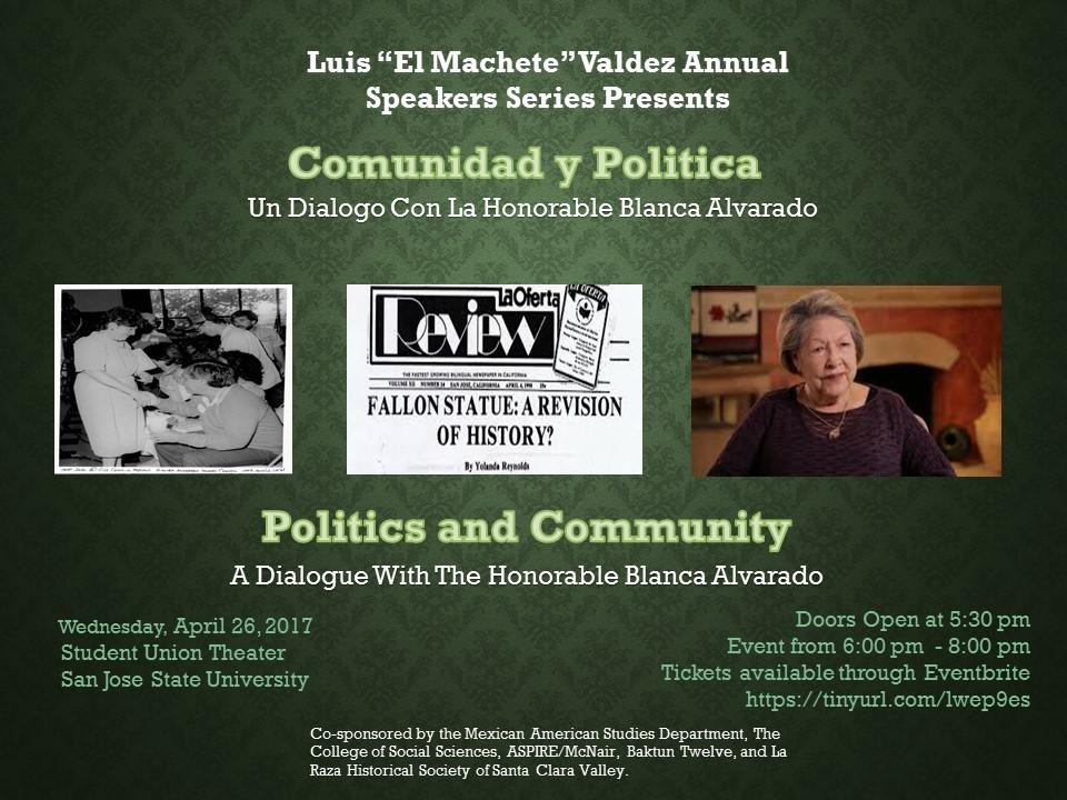 Politics and Community: A Dialogue with the H