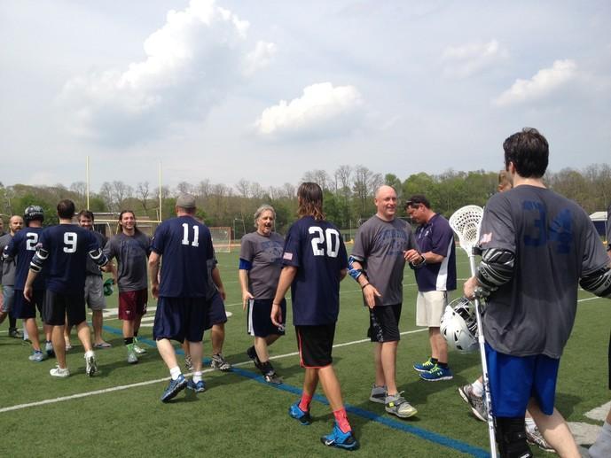 Huntington Lacrosse Memorial Alumni Game