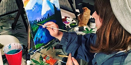 Puff, Pass & Paint - 420-friendly painting in Oakland! tickets