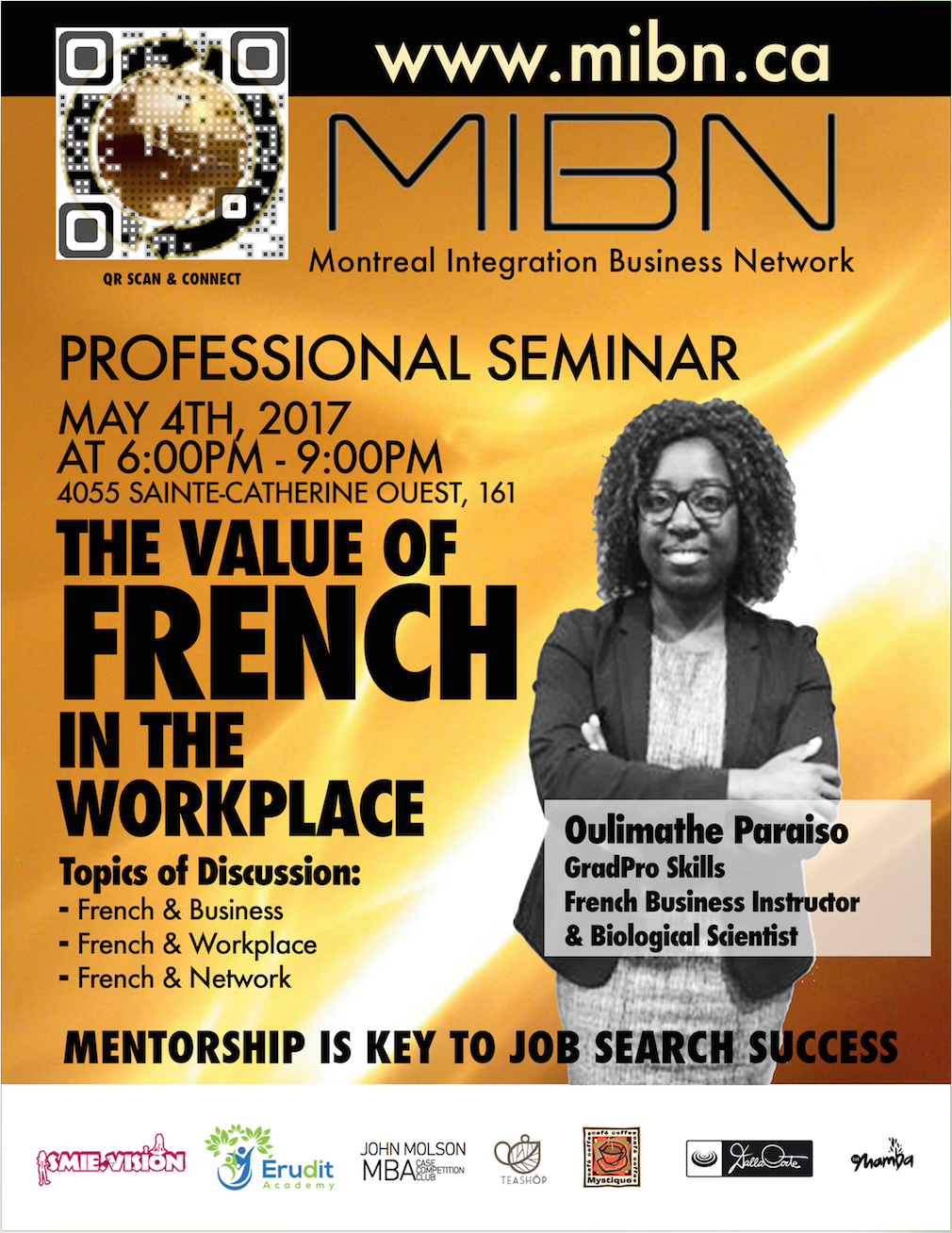 French in the Workplace (English Seminar)