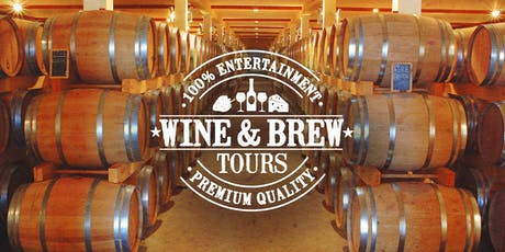 100% Wine & Brew Tours (Deposit/Bond Payment) tickets