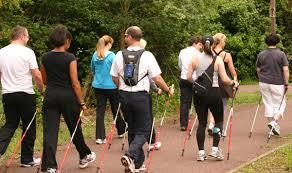 Lunch Time Nordic Walk at Jack Crawford House