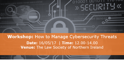 Workshop | How To Manage Cyber-security Threats