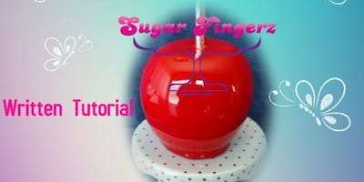 Bubble Free Basic Candy Apple Tutorial (detailed written instructions)