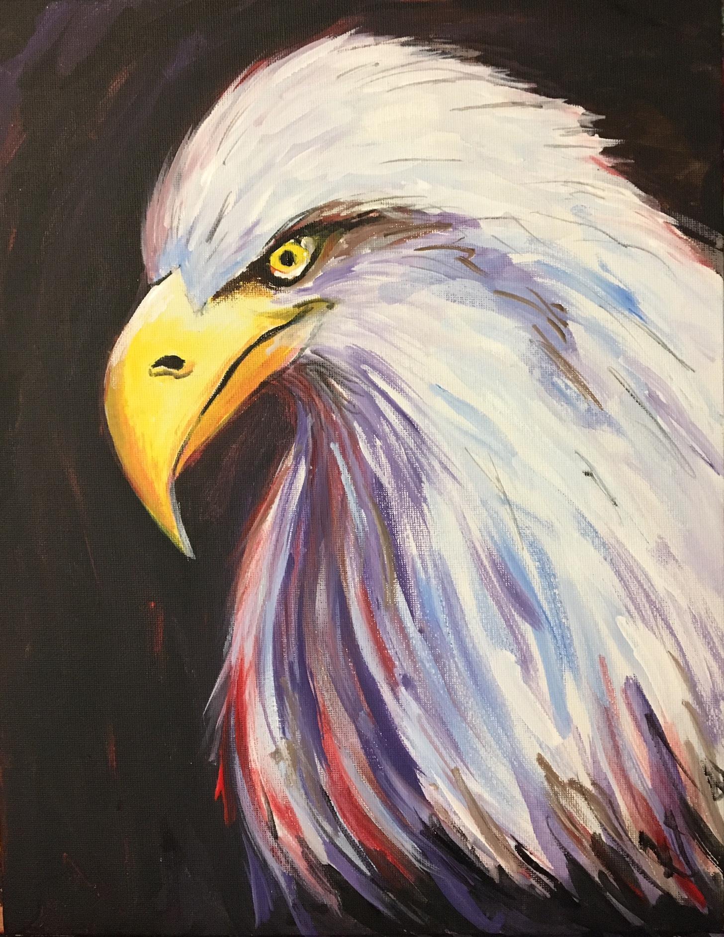 eagle eye - paint-along @ farnsworth house inn, gettysburg - 5 jul