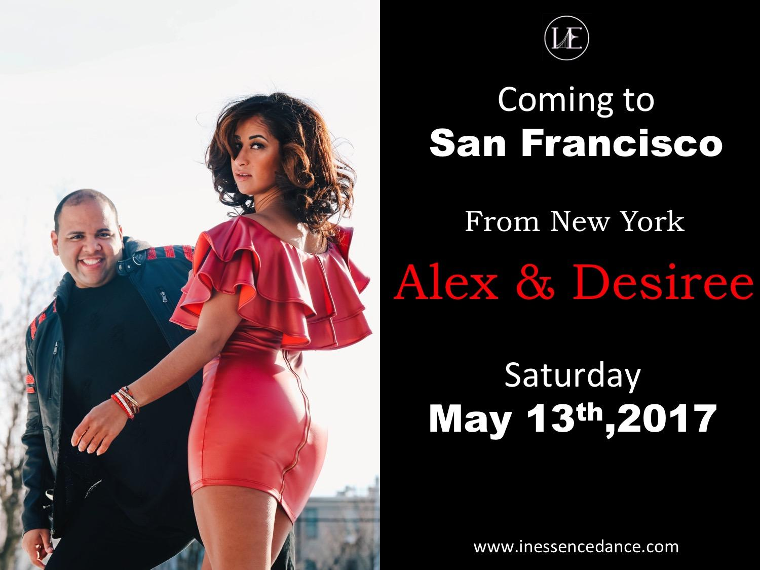 Alex and Desiree Workshop & Party