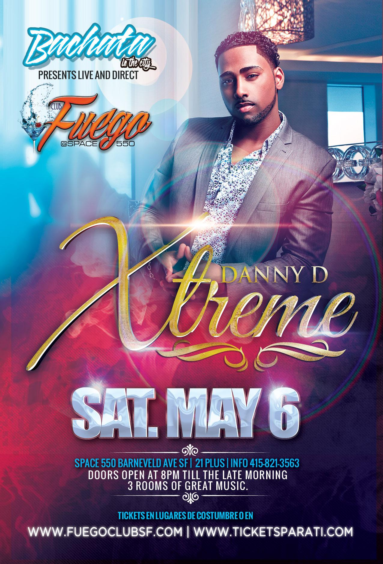 XTREME LIVE Bachata In the City Space 550