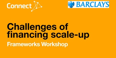Challenges of Financing Scale-up - Frameworks Workshop