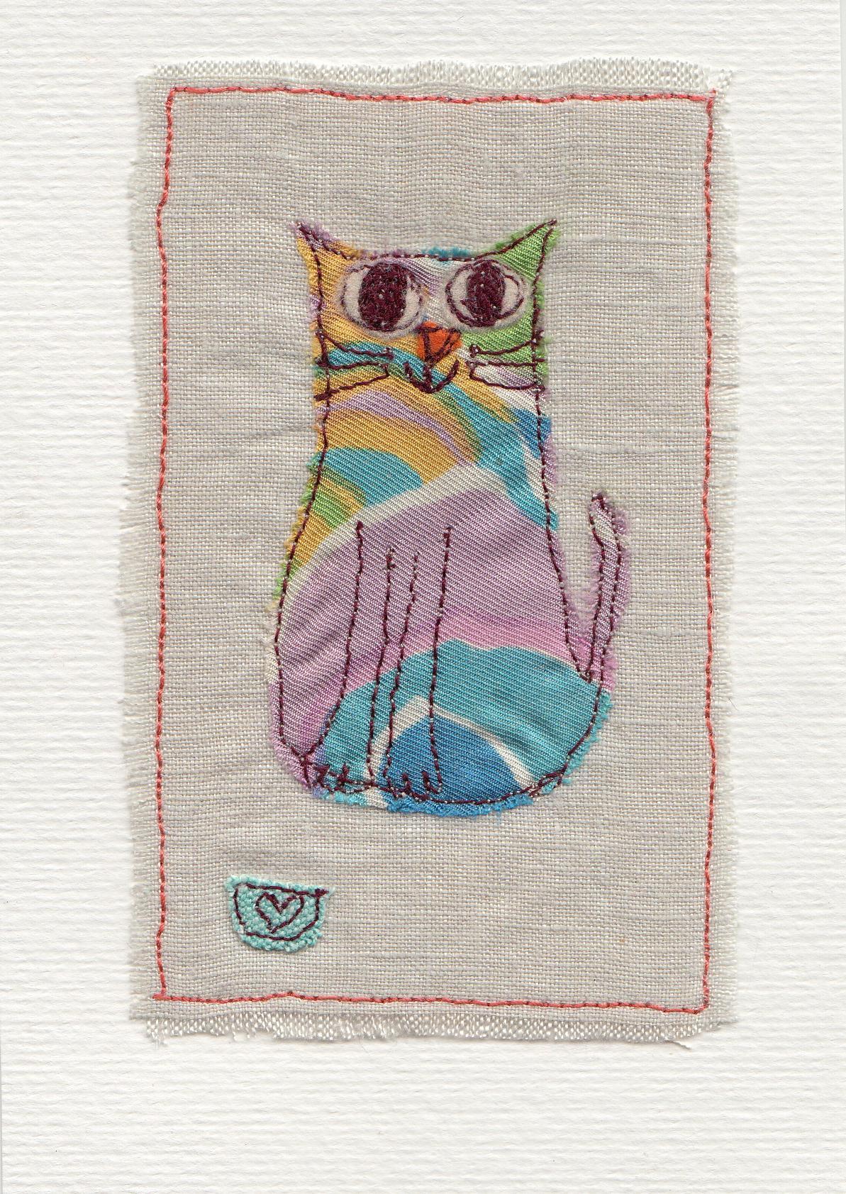 Free machine embroidery with Dawn Ireland