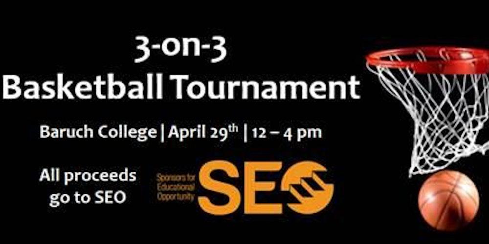 SEO & Morgan Stanley 3 on 3 Basketball Tournament Challenge