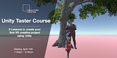 Unity VR Taster Course – Class 1
