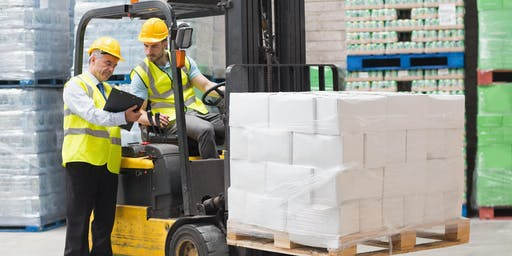Forklift Operator Safety Training  ($175+tax)