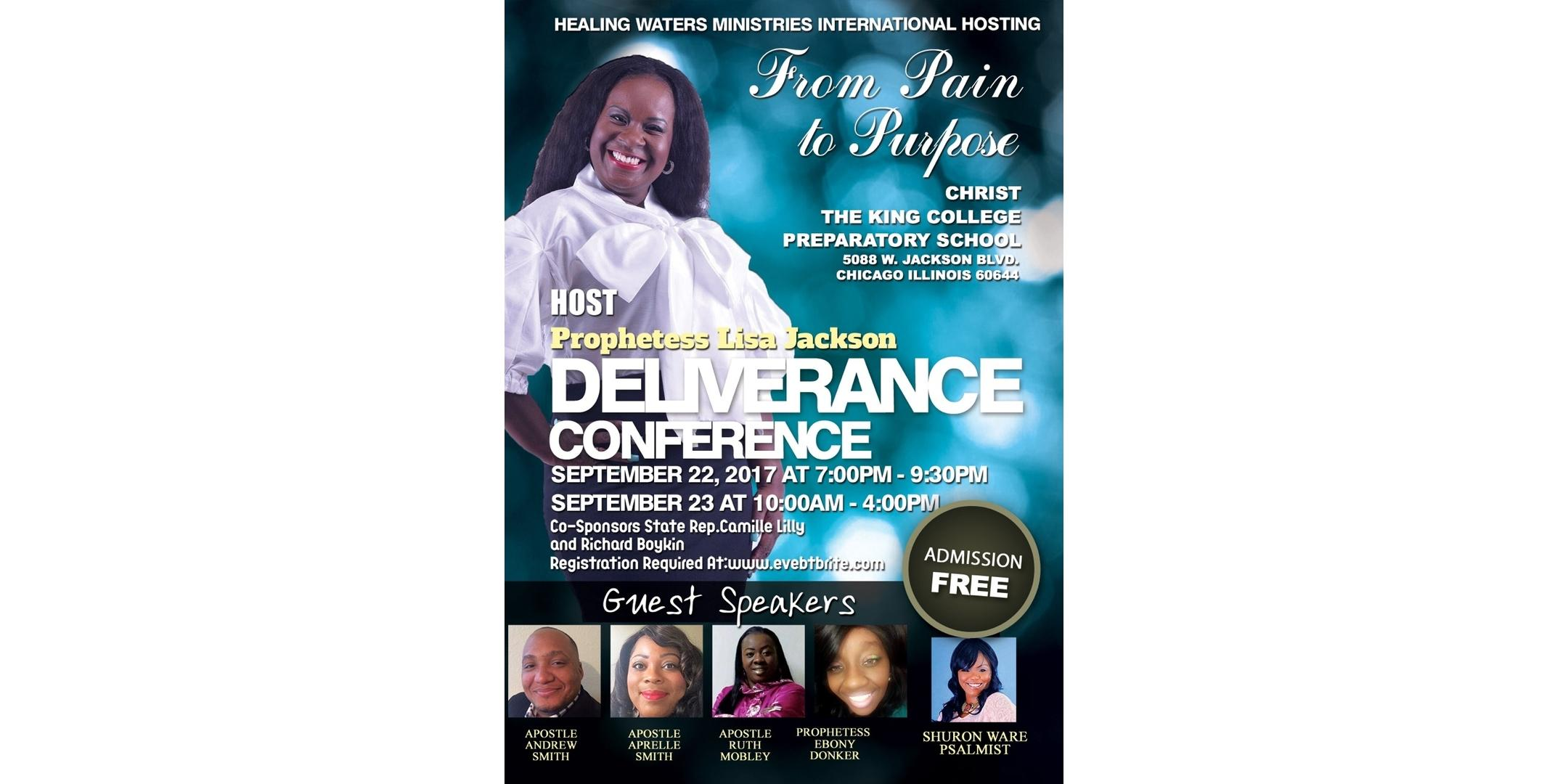 From Pain to Purpose Deliverance Conference