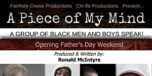 A Piece of My Mind! A group of black men AND boys...