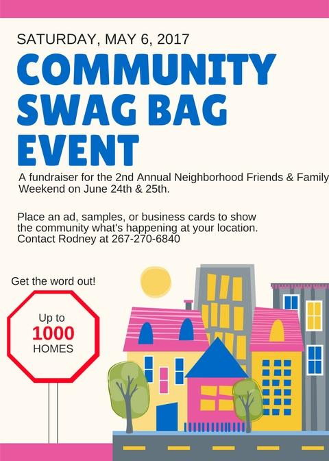 Community Swag Bag Event