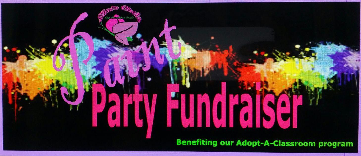Zuri's Circle Paint Party Fundraiser. Zuri's Circle Paint Party Fundraiser