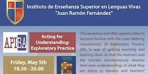 """Workshop """"Acting for Understanding: Exploratory..."""