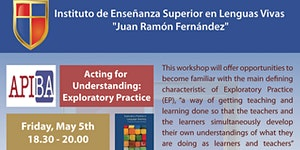 "Workshop ""Acting for Understanding: Exploratory..."