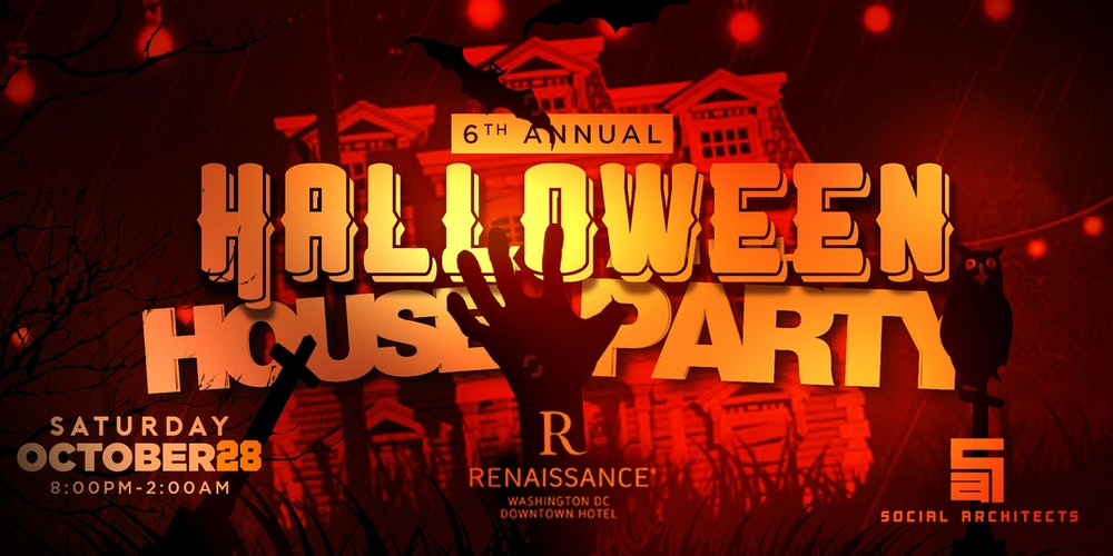 6TH ANNUAL HALLOWEEN HOUSE PARTY Tickets, Sat, Oct 28, 2017 at 8 ...