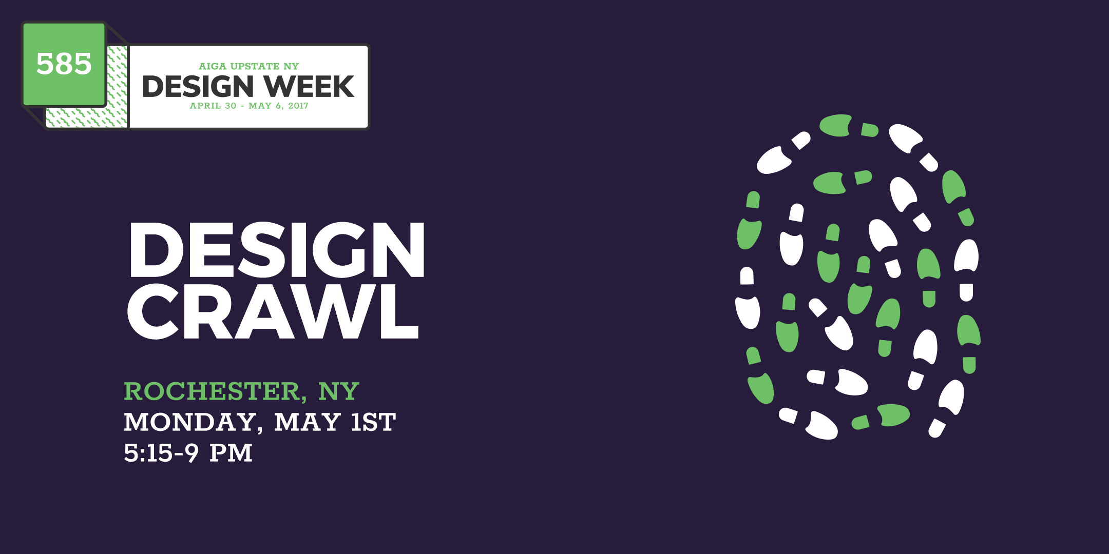 AIGA UPSTNY Design Week: Design Crawl (Roches