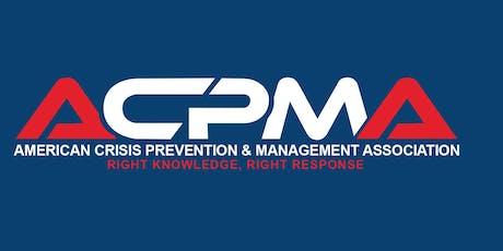 MAB Management of Assaultive Behavior Instructor Certification Class tickets
