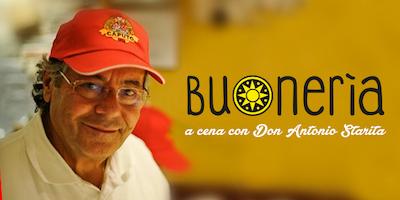 A cena con Don Antonio Starita