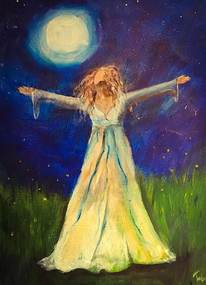 Phenomenal Woman: Power - Acrylic Painting Cl