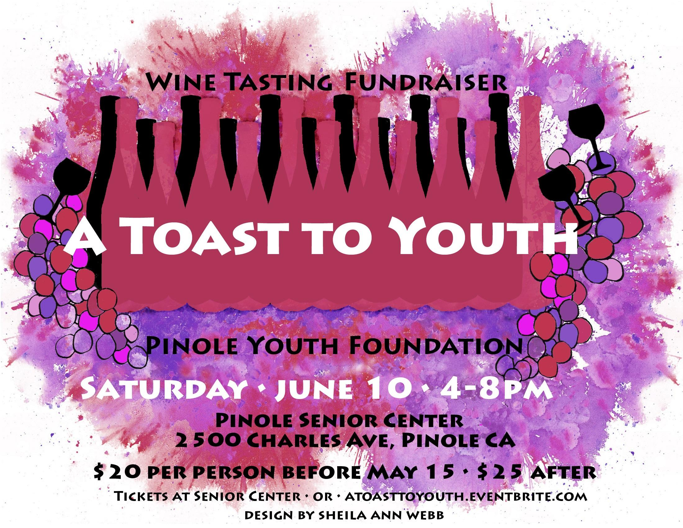 A Toast to Youth Winetasting Fundraiser 2017