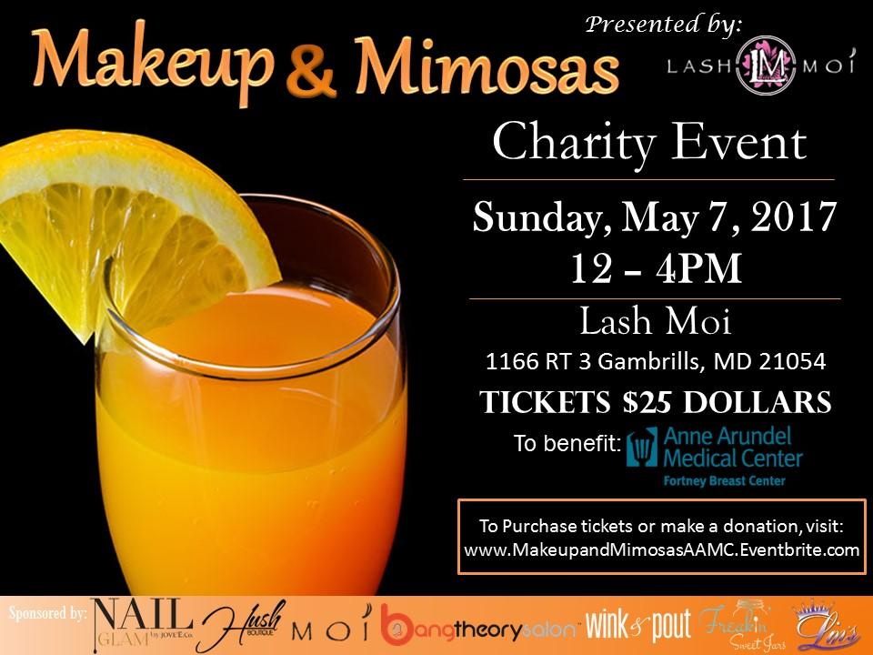 Makeup and Mimosas 2017 for AAMC