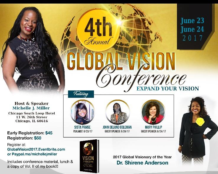 4th ANNUAL GLOBAL VISION CONFERENCE  - EXPAND