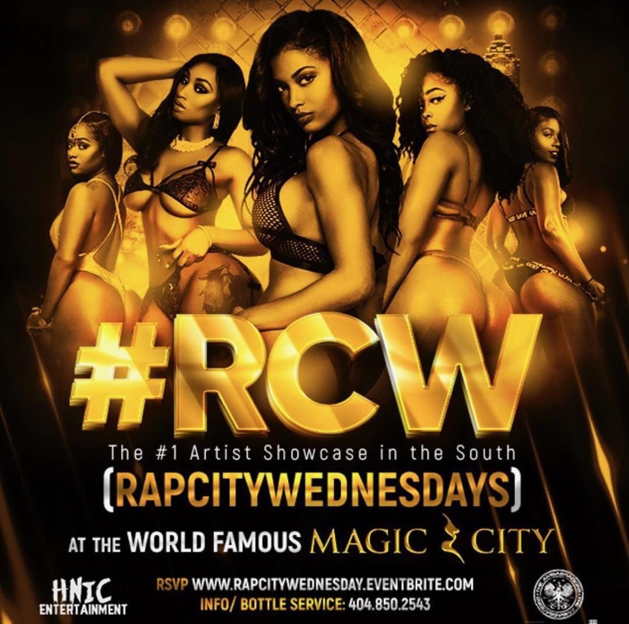BIGGEST OPPORTUNITY FOR ARTISTS: MAGIC CITY EACH AND EVERY WEDNESDAY. BIGGEST OPPORTUNITY FOR ARTISTS: MAGIC CITY EACH AND EVERY WEDNESDAY