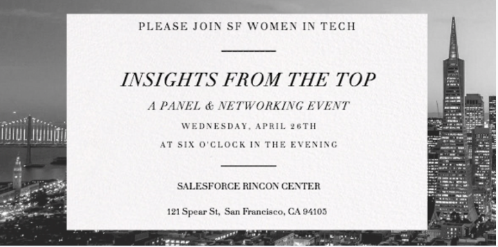 Insights from the Top - A Panel of Tech Women