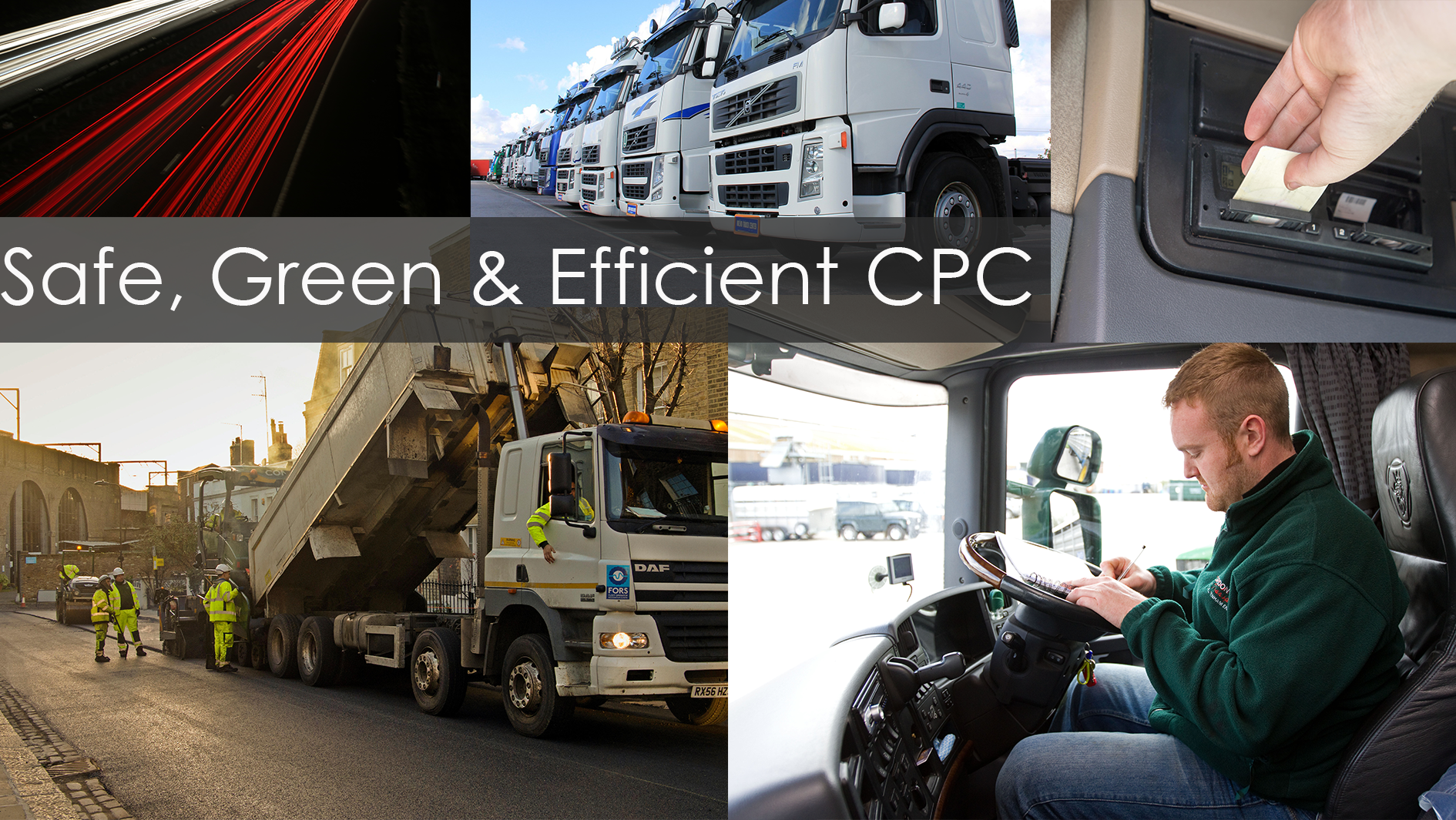 CPC O Licence Undertakings (the Driver's role