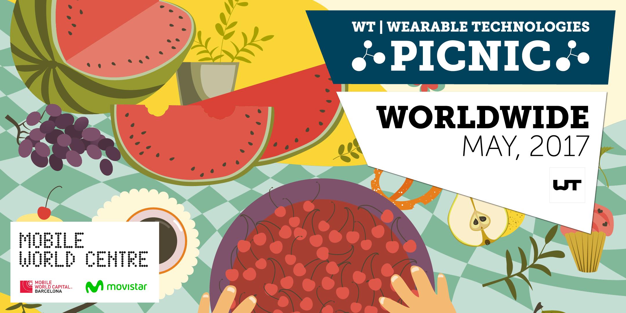 WT   Wearable Technologies Picnic 2017 Barcel