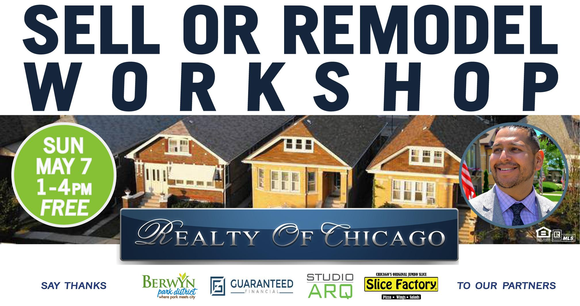 Sell Or Remodel Workshop  Ask Questions, Get Answers