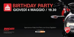 Ducati Firenze Birthday Party