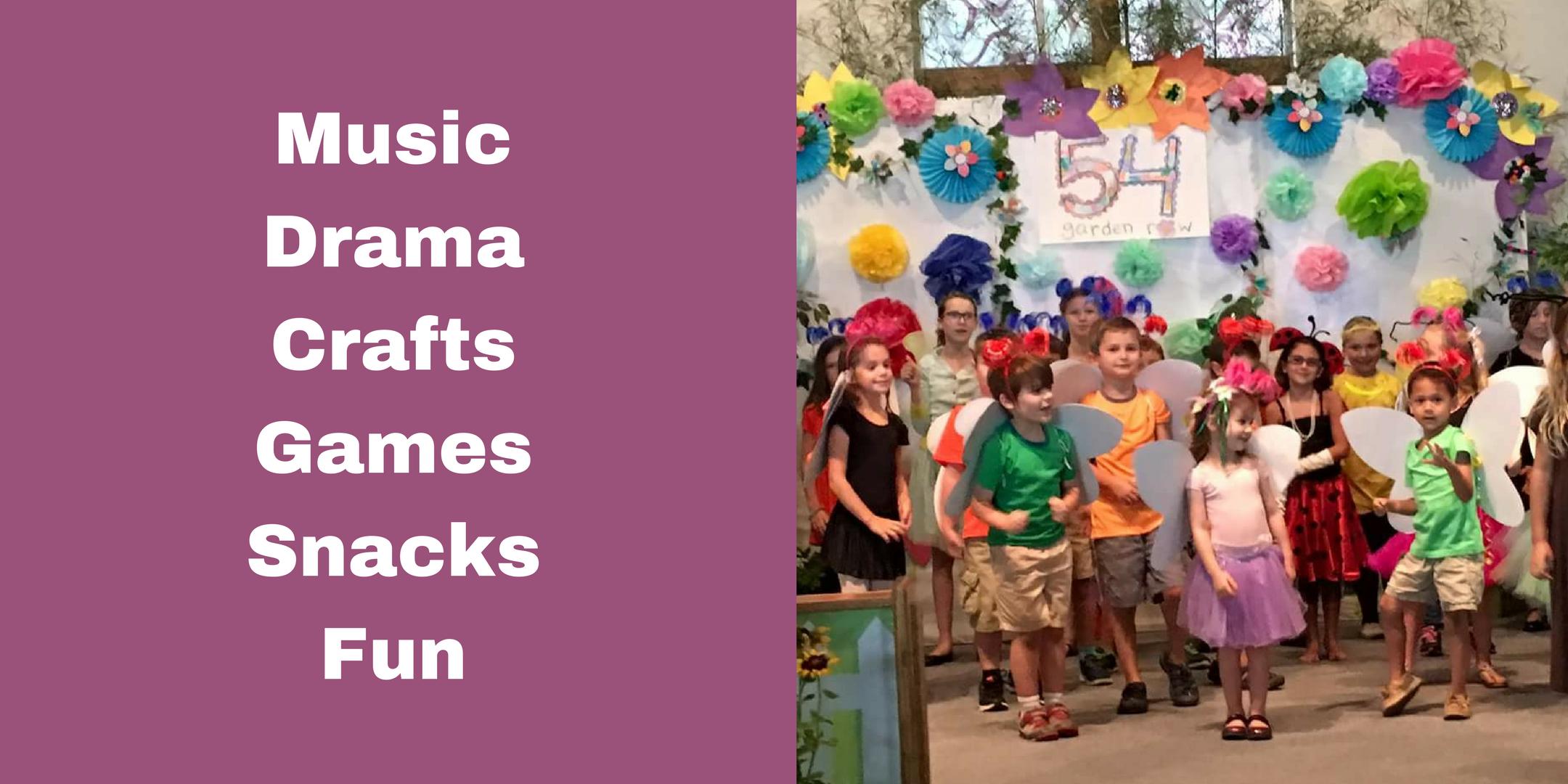 Children's Music and Drama Camp 2017 | Lexington, SC | Faith United Methodist Church | June 19, 2017