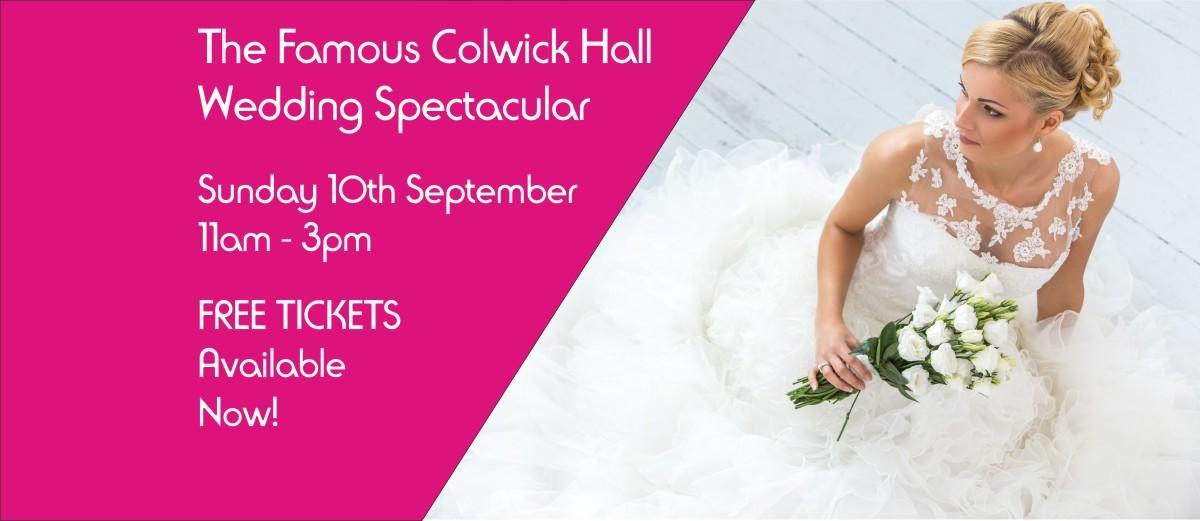 Colwick Hall Wedding Spectacular