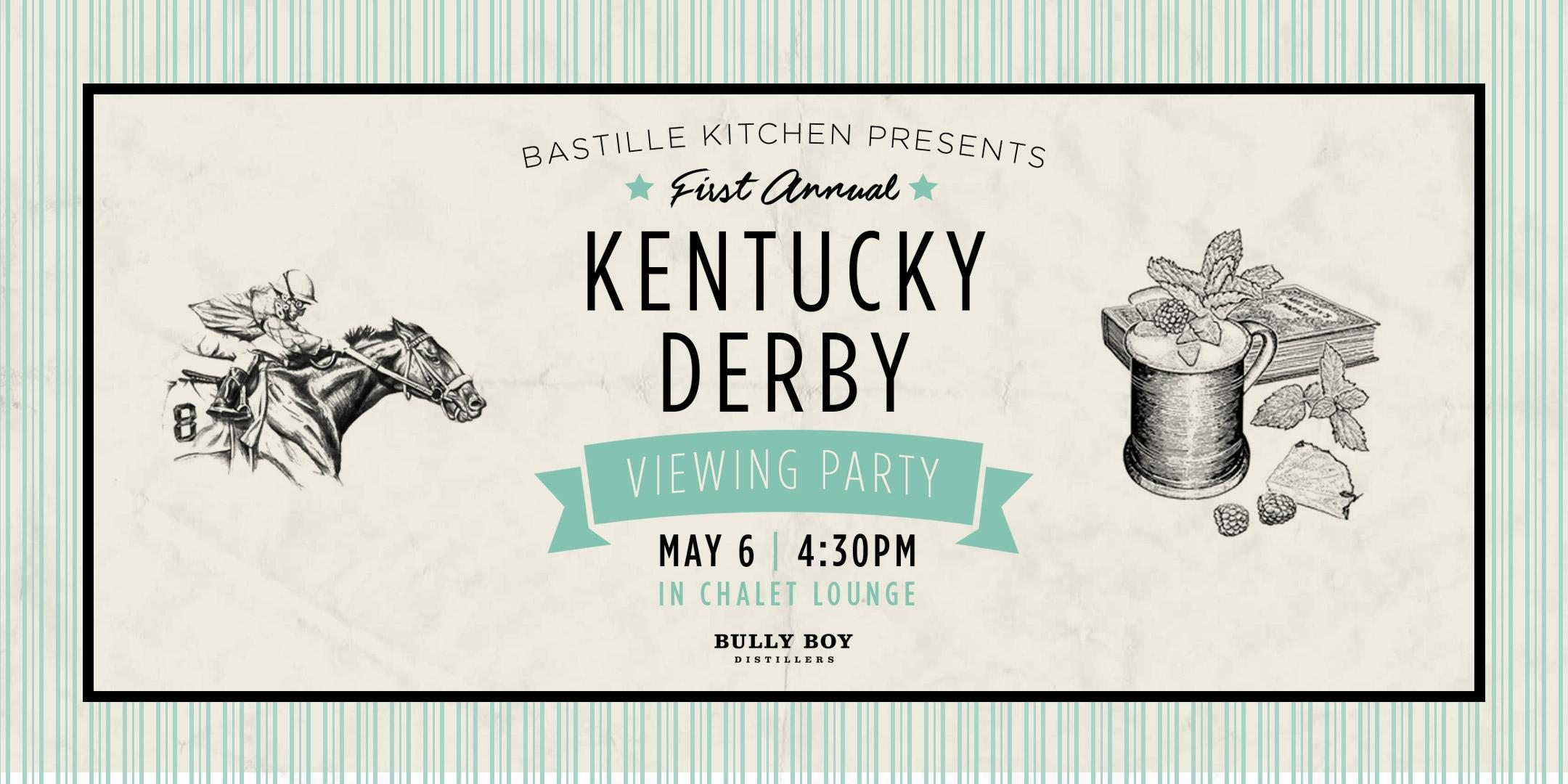 kentucky derby viewing party bastille kitchen boston 6 may 2017