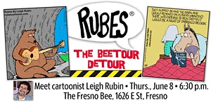 LEIGH RUBIN: The wild and twisted world of Rubes